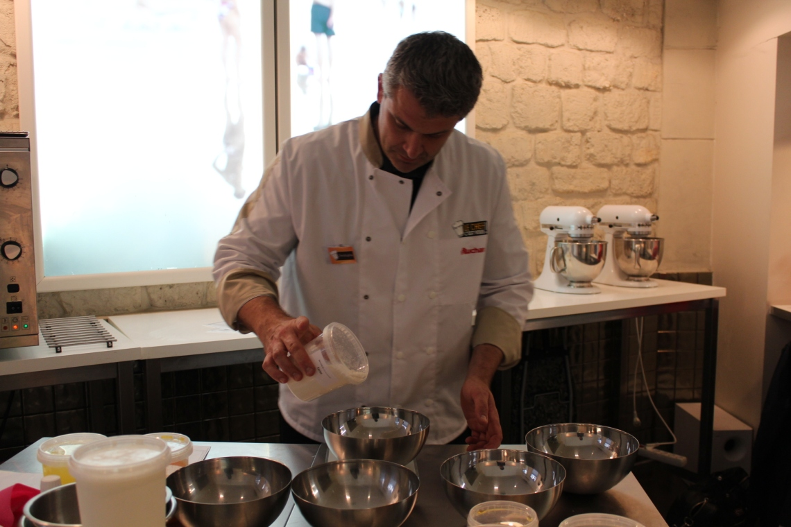 Christophe Rouze adapte sa recette de Milanais.