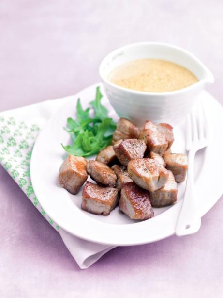 Porc saute a la sauce satay