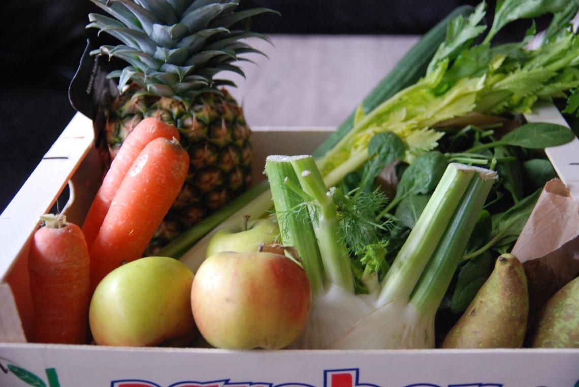 1re étape : se ravitailler en fruits et légumes ©MyriamDarmoni