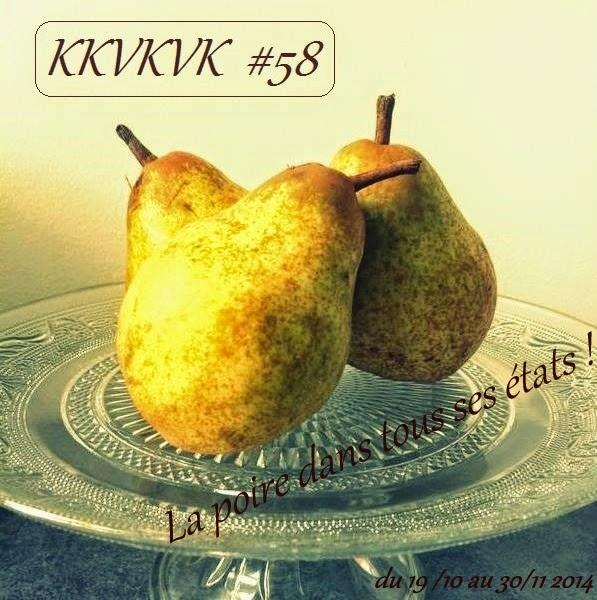 KKVKVK #58 sur le thème de la poire
