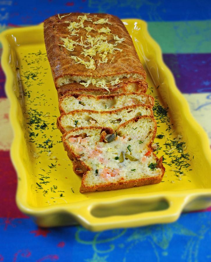 Cake citron aneth Myriam Darmoni bd