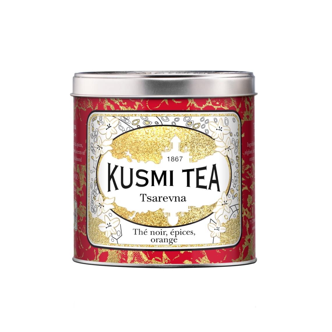 Kusmi Tea Tsarevna 250 grammes edition limitéee noel 2014