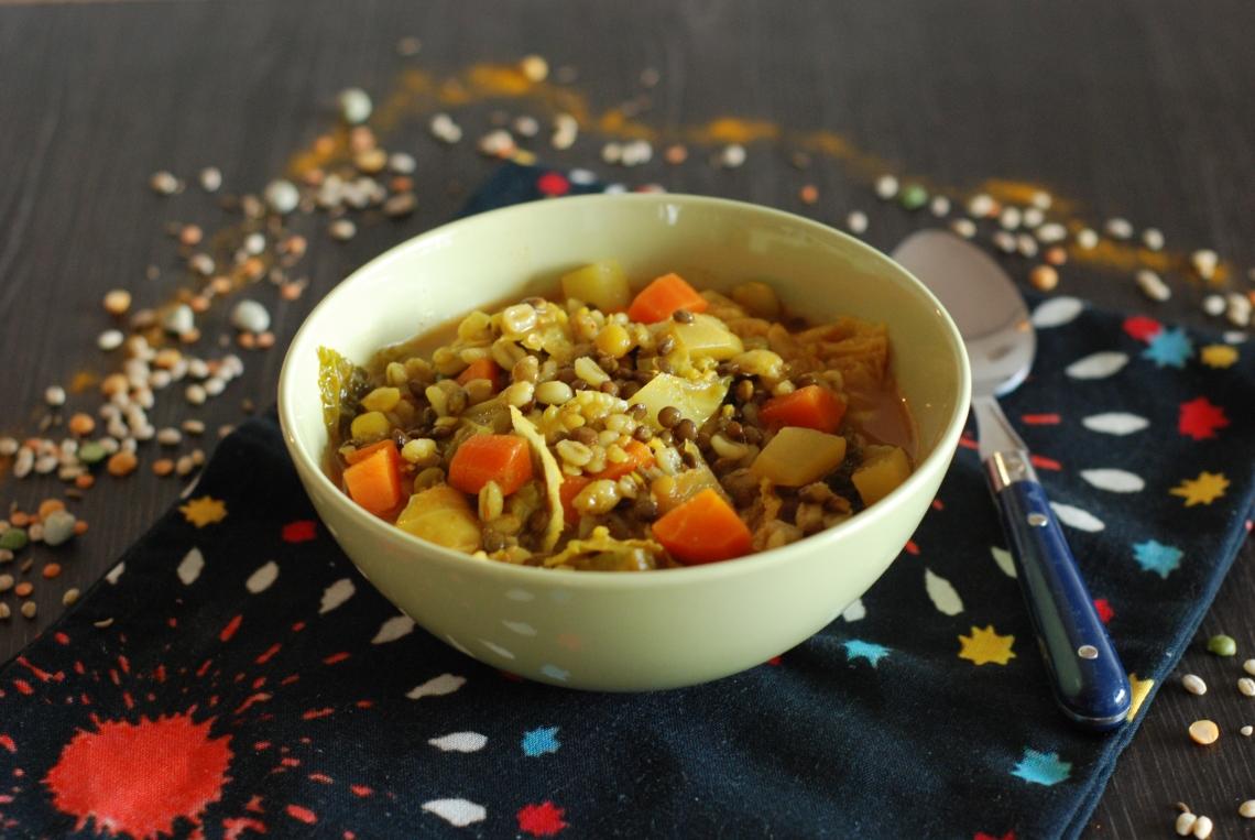 Soupe complete aux céréales 2