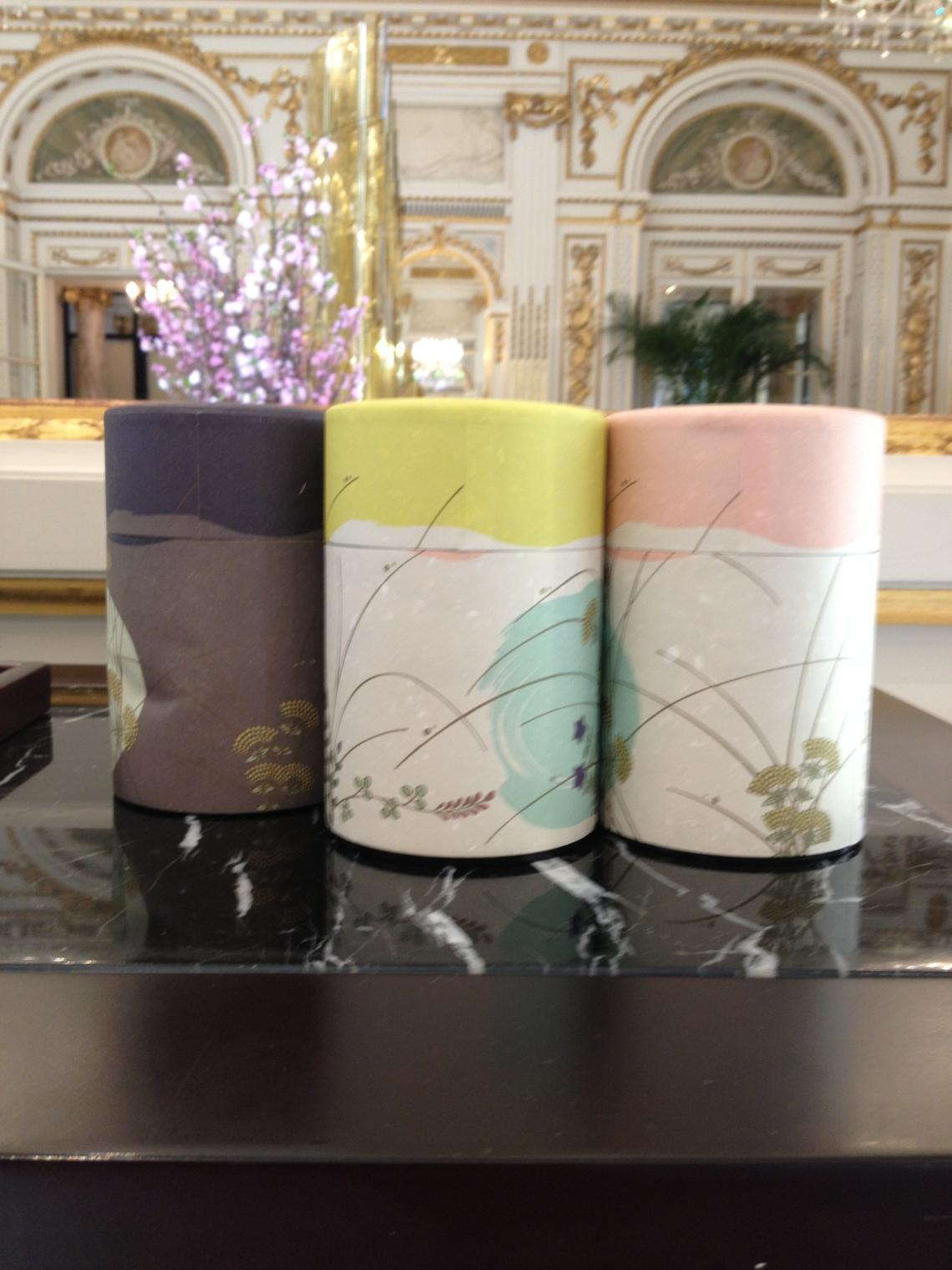 Sakura pour nous,  mais les autres thés japonais sont aussi représentés.