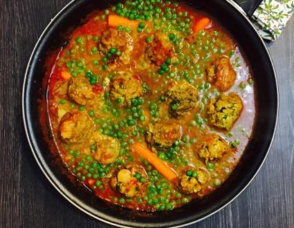 Boulettes de b uf l anis sauce tomate maison go t de food - Boulette de boeuf maison ...