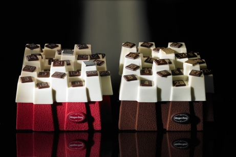 Haagen-Dazs - Le Calendrier by Paola Navone - 2 versions