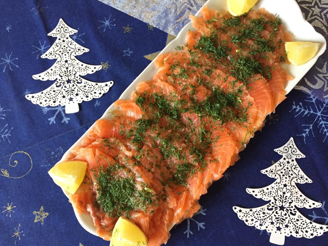 Gravlax de saumon - Myriam Darmoni