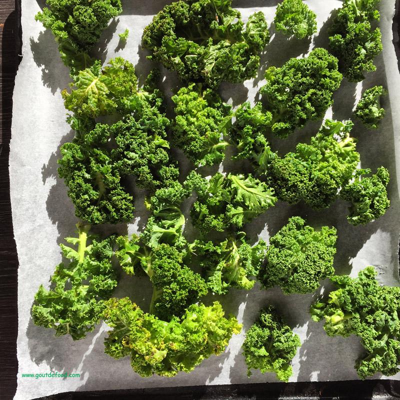 Kale - comment faire des chips de kale ?