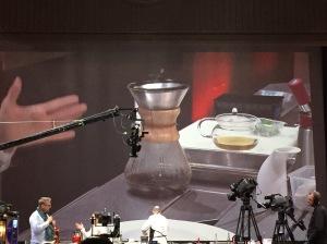 Huître café-épice-whisky au Kamex - Anne-Sophie Pic - Omnivore, Paris 2016