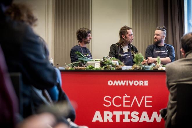 Florent Ladeyn en compagnie de Dries Delanote et Bertrand Devienne - photo Caspar Miski