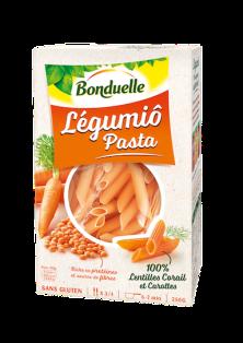 LEGUMIO Pasta LentillesCorailCarotte