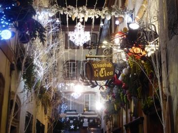 La rue du Chaudron est la plus décorée de Strasbourg