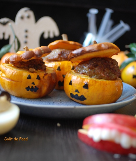 Halloween - citrouilles farcies - Jack'o'little