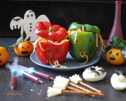 Halloween - Poivron masqué – Version 2