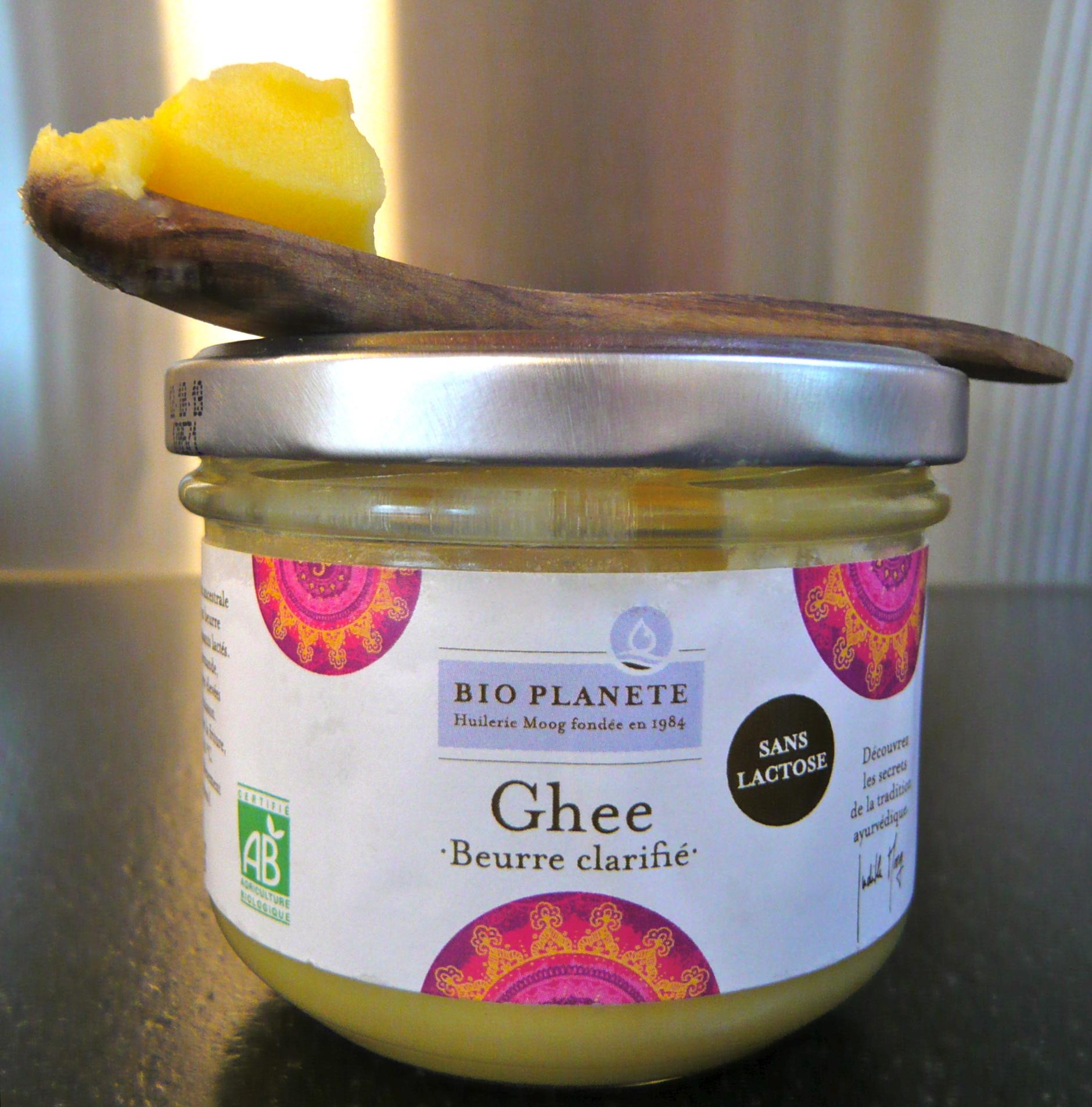 Ghee - le beurre clarifié